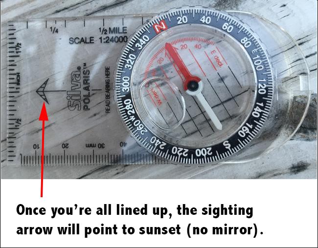 sighting-arrow