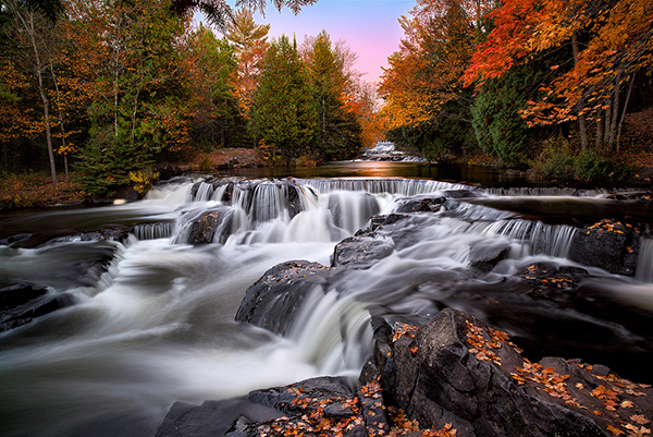Upper Bond Falls In Autumn