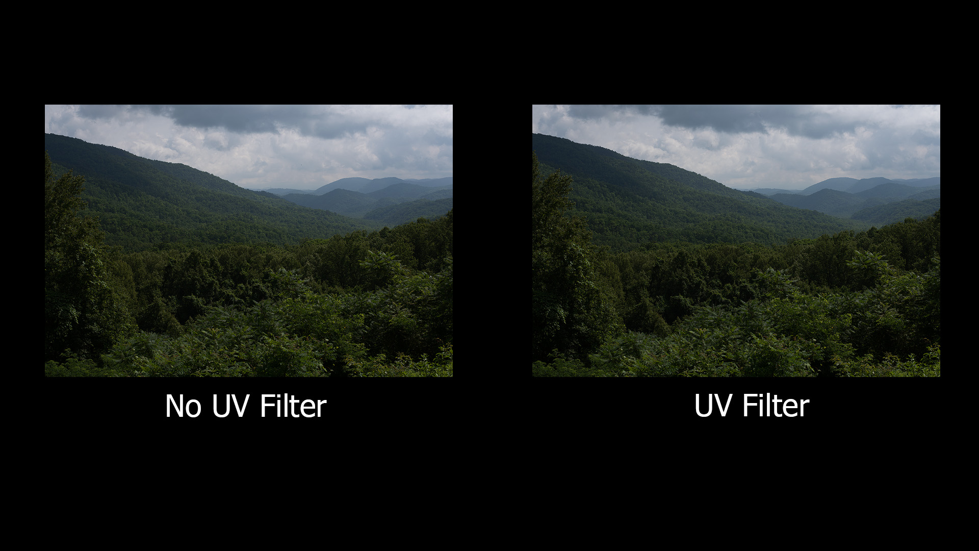 uv vs non-uv color comparison