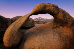 Mobius Arch At Dawn