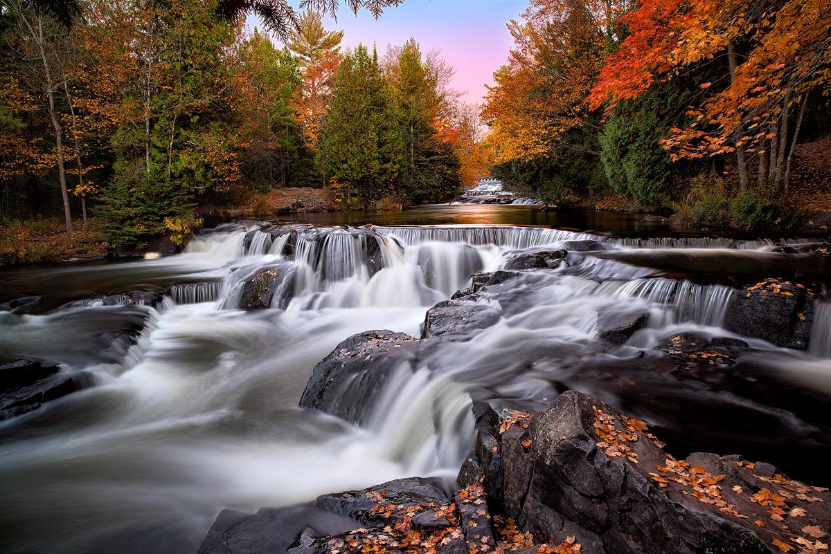 Autumn Magic At Upper Bond Falls