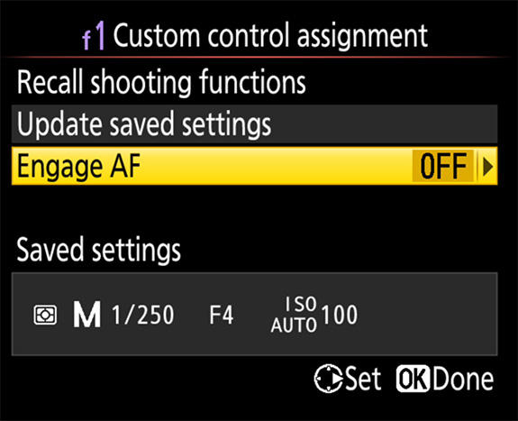 "Nikon's New ""Recall Shooting"" Feature"